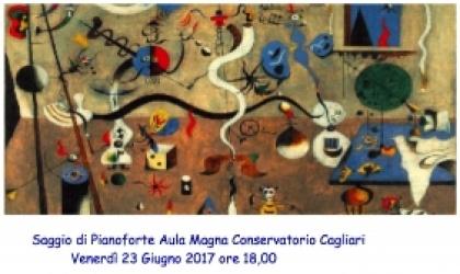 Rinnovo della borsa di studio ad ANNA MARIA IRDE, allieva del biennio di specialistica di pianoforte presso il Conservatorio di Musica di Cagliari: docente Francesca GIANGRANDI.