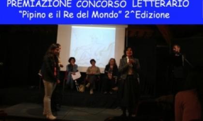 """PREMIAZIONE CONCORSO LETTERARIO """"Pipino e il Re del Mondo"""" 2 Edizione"""